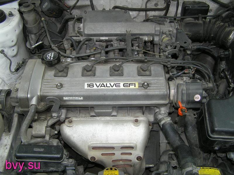 двигатель 7A-FE-1