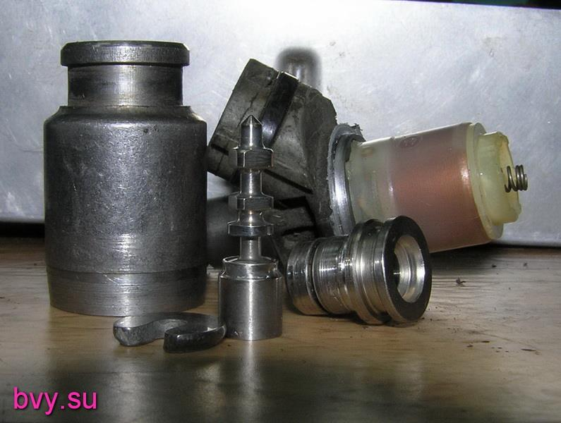 распиленный инжектор двигатель 7А-FE
