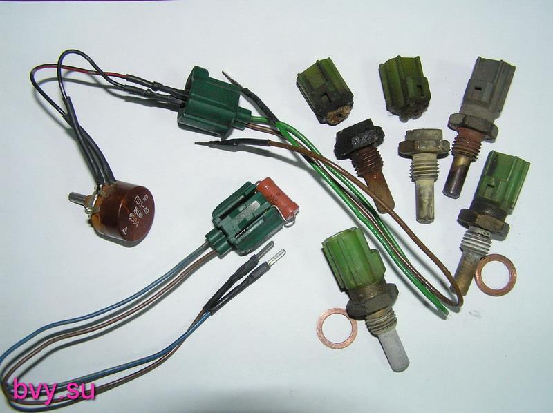Различные датчики температуры 7A-FE