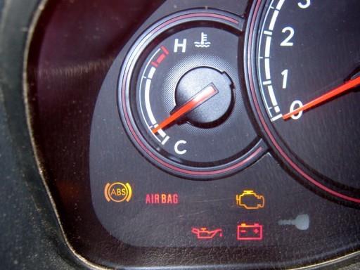 Subaru - Контрольный индикатор системы подушек безопасности SRS Airbag