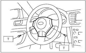 Subaru - DRIVER'S AIRBAG
