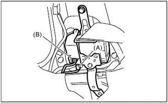 Subaru - SEAT BELT PRETENSIONER