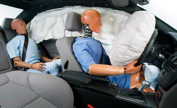 Что делать если сработала подушка безопасности