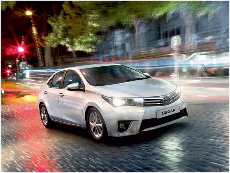 Диагностика ошибки Toyota Corolla