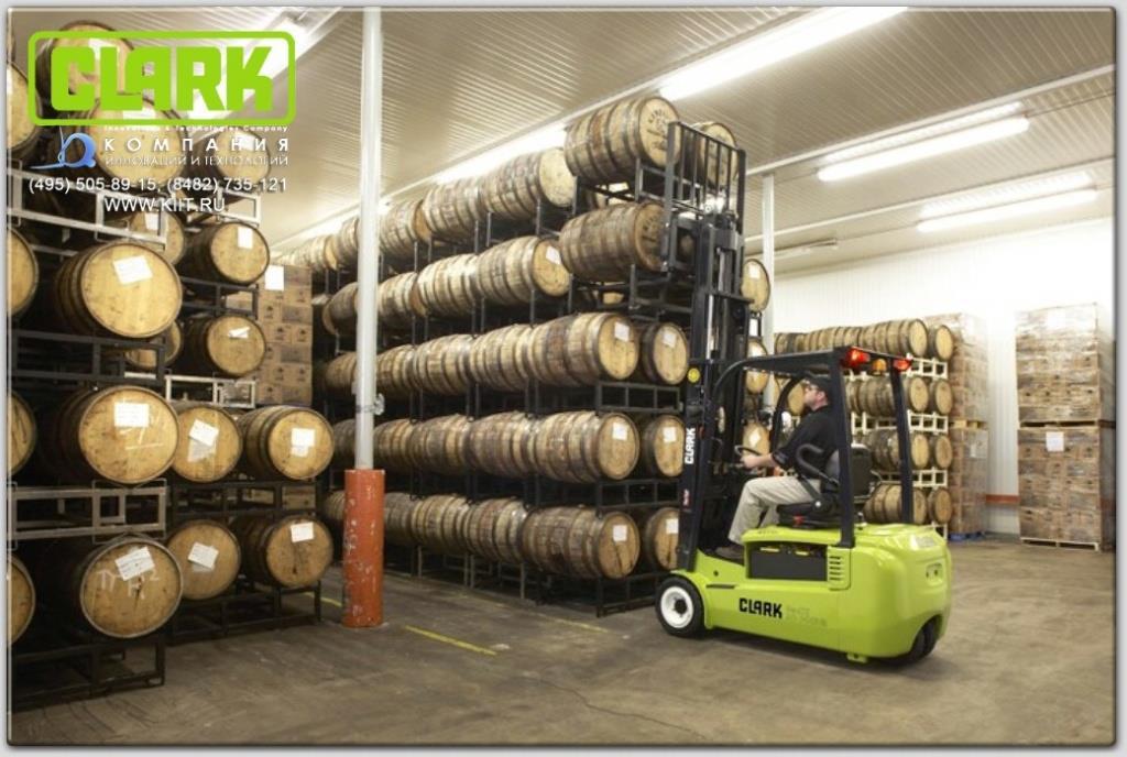 Серия электропогрузчиков CLARK GTX 16/18/20s - трехопорные погрузчики от 1,6 до 2 тонн