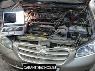 Nissan Maxima QX 3.0 2000 Компьютерная диагностика. Загорелась ошибка P1320 или 21