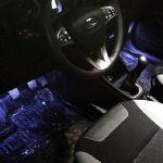 Установка подсветки пола (ног) на Lada Vesta и XRAY