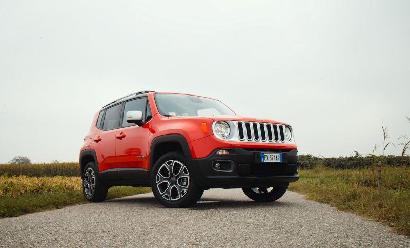Jeep Renegade - фото в профиль
