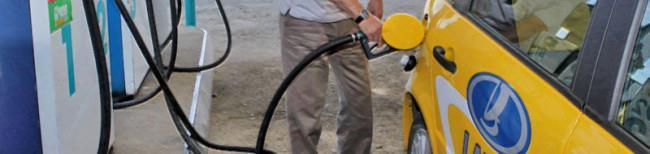 Заправка бензином Лада Калина