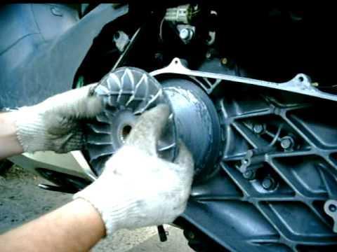 Вариатор передний honda silver wing 400 фото
