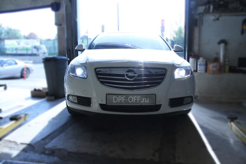 Удаление сажевого фильтра на Opel Insignia 2.0 CDTI