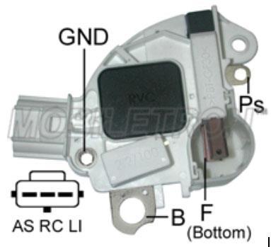 регулятор напряжения 230790 VR-F156 MAG-MARELLI; 14V; Ford Focus 2