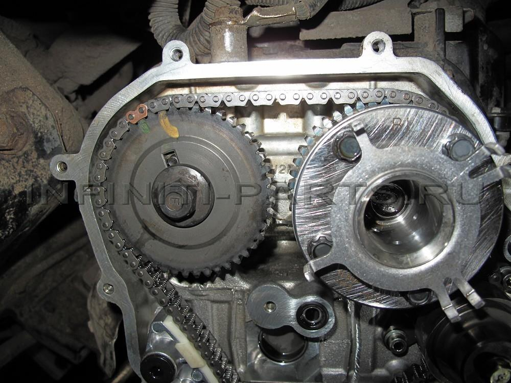 Замена цепей Nissan Patrol