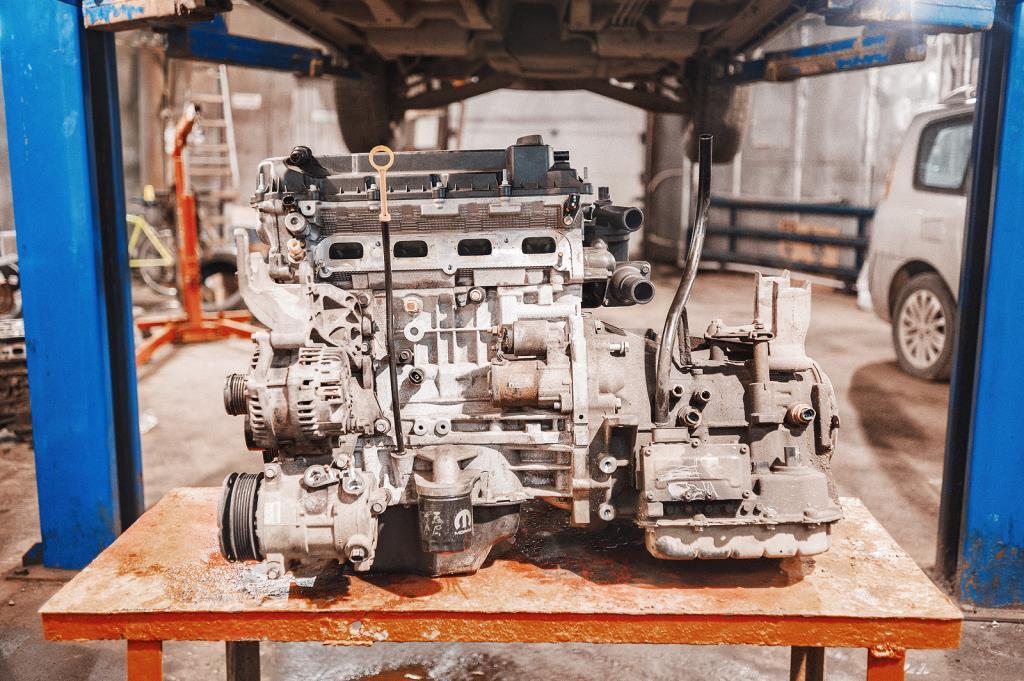 Новый двигатель Додж Джорни в сборе с АКПП
