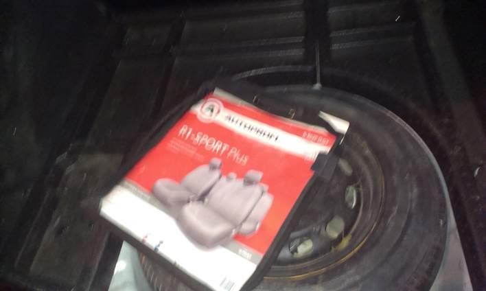 Багажник, отделение под колесо Ford Focus 2