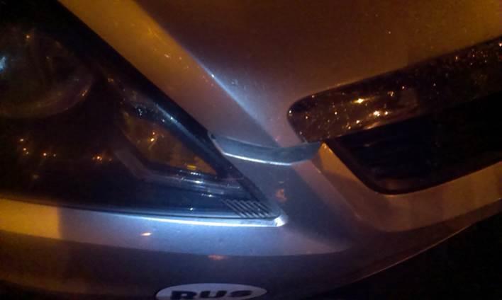Неправильный зазор между капотом и бампером Ford Focus 2