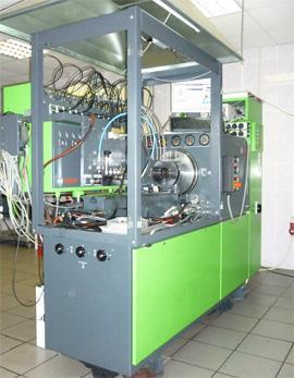 Стенд для проверки дизельной аппаратуры