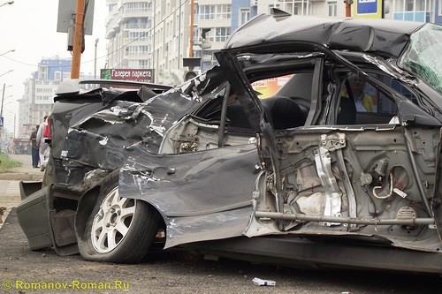 ДТП на перекрестке ул.Авиаторов и ул.Алексеева