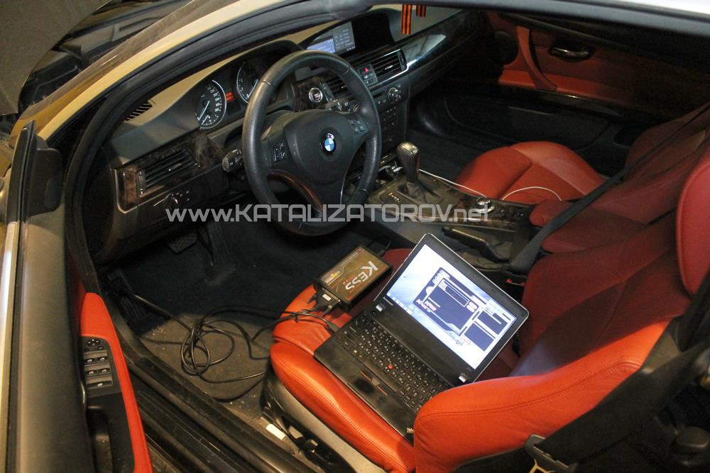 Удаление катализаторов на BMW 335i E92 N54 3.0 BiTurbo - Катализаторов.НЕТ