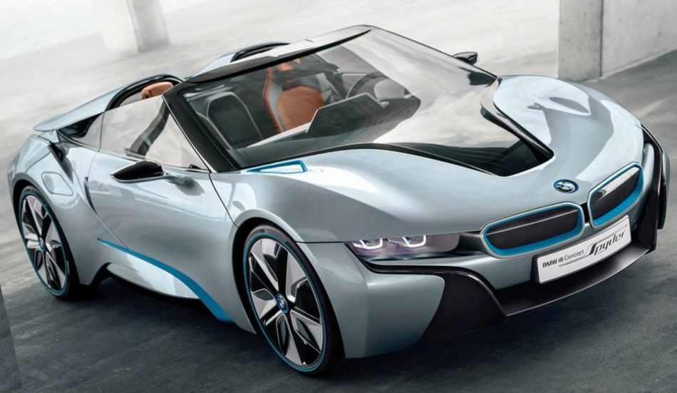Кабриолет BMW i8 Spyder Concept