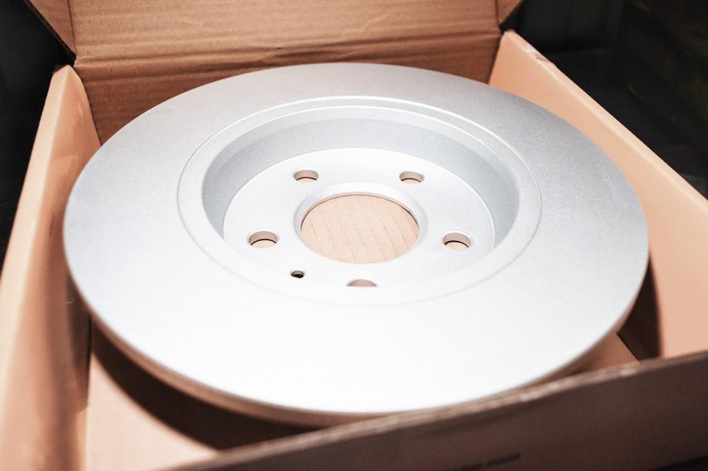 Новый тормозной диск Ауди Q5