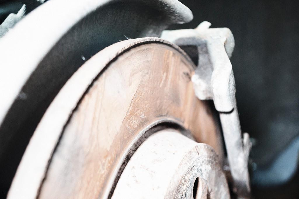 Сильный износ тормозного диска Ауди Q5