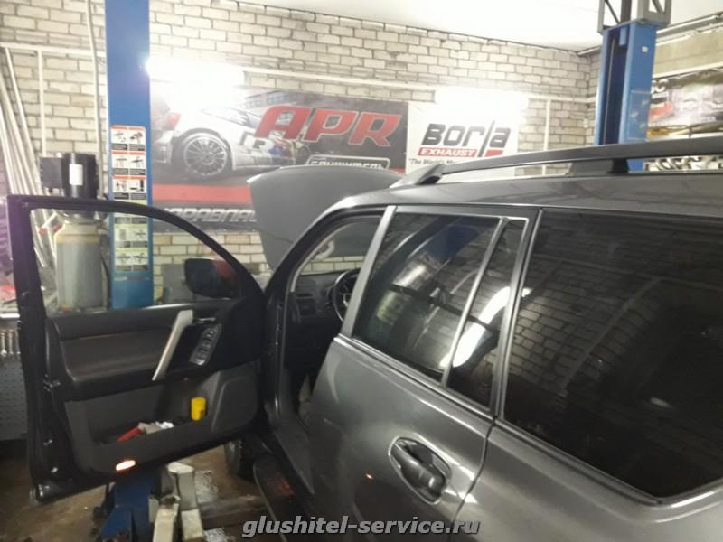 Отключение системы EGR на Toyota Prado