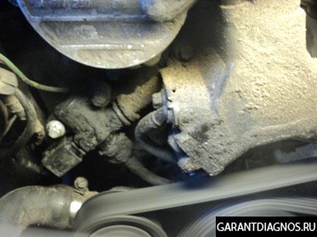 Компьютерная диагностика двигателя Mercedes Benz E220 CDI W210
