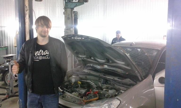 Выездная компьютерная диагностика. Двигатель не заводится.