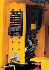 электрический распределительный шкаф и воздухоочиститель экскаватора hyundai