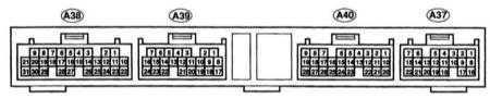 Проверка тормозной системы через разъём модуля управления Lexus RX300