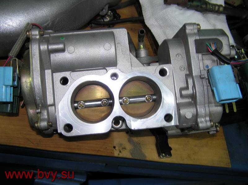 после чистки заслонки -двигатель VQ25DD