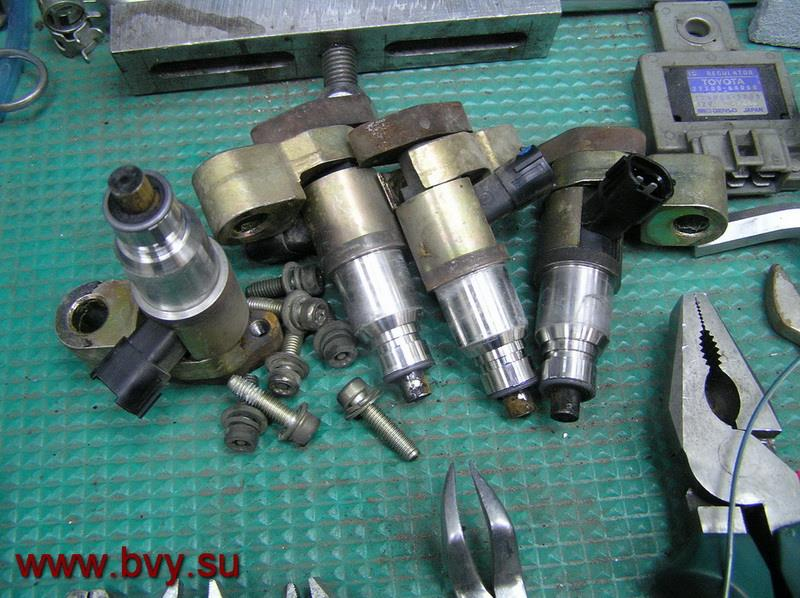 инжекторы двигатель VQ25DD_2