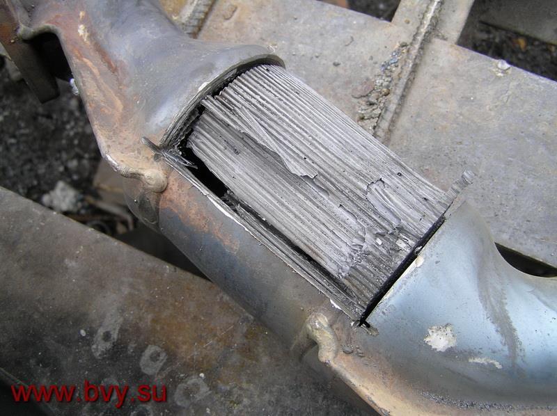 катализатор двигатель VQ25DD_1