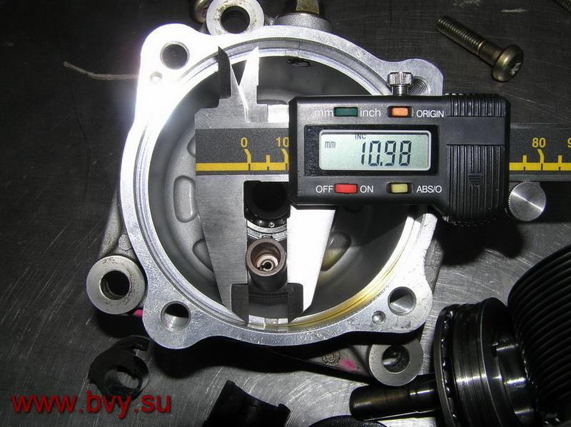 размер плунжера в ТНВД двигатель VQ25DD
