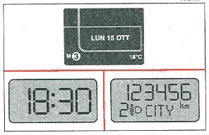 Изменяемый дисплей Fiat Stilo