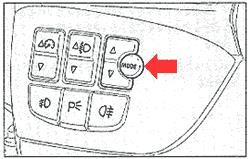 Дисплей клавиша Mode