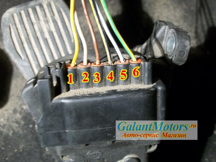 распиновка электронной дроссельной заслонки форд фокус 2