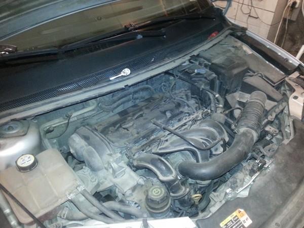 Ремонт катализатора, ошибка p0420 в Ford Focus 2