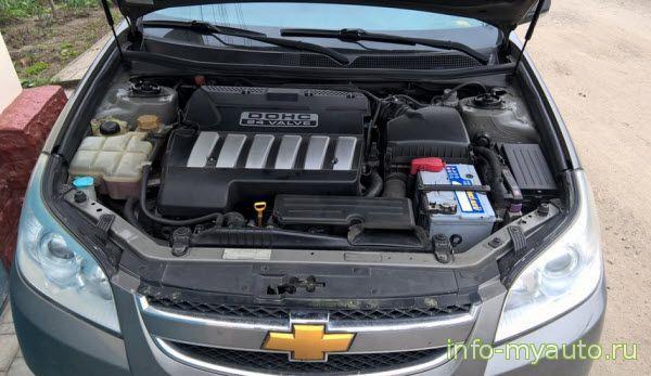 Chevrolet Epica двигатель