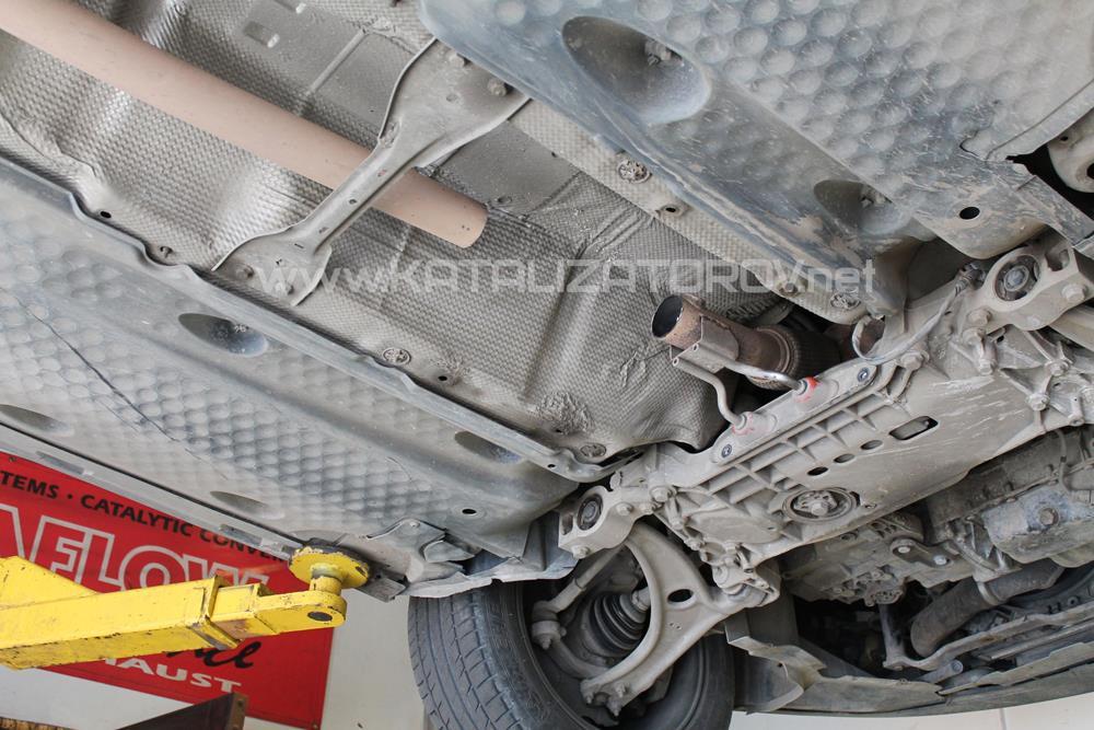 Удаление катализаторов на Volkswagen Passat 1.8 TSI B6 - Катализаторов.НЕТ