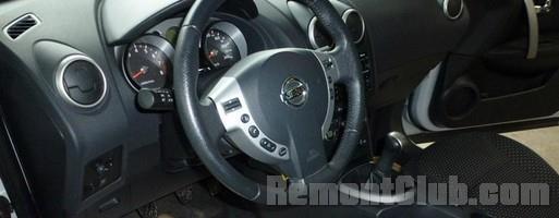ошибка airbag Nissan Qashqai