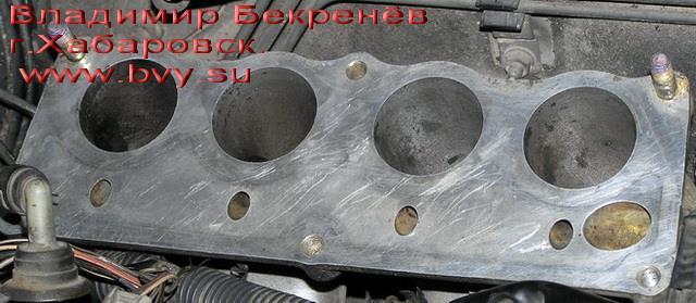 очищенный коллектор низ_1 двигатель 3S-FSE