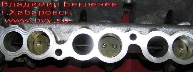 очищенный коллектор низ двигатель 3S-FSE