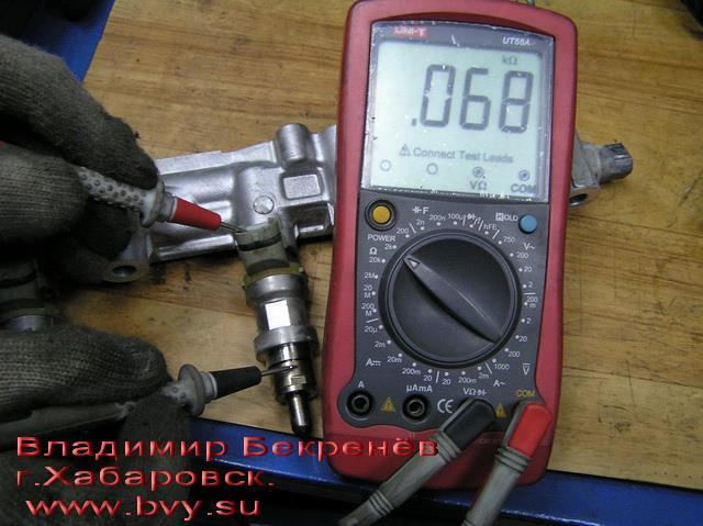замыкание обмотки на корпус двигатель 3S-FSE