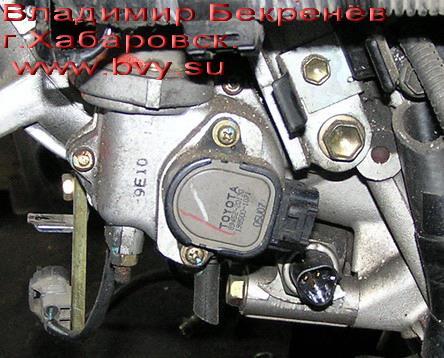 tps заслонок двигатель 3S-FSE
