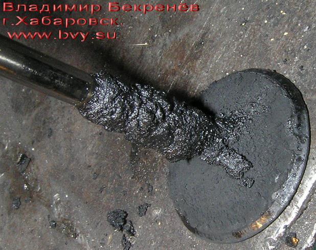 кокс на стержне клапана двигатель 3S-FSE