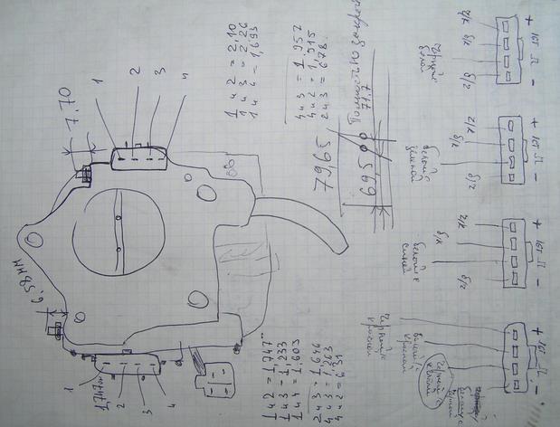 матрица установки двигатель 3S-FSE