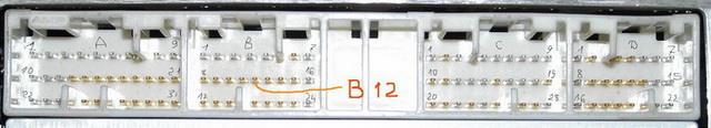 ecm вывод датчика давления двигатель 3S-FSE