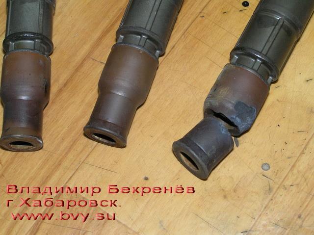 прогар наконечника катушки двигатель 3S-FSE